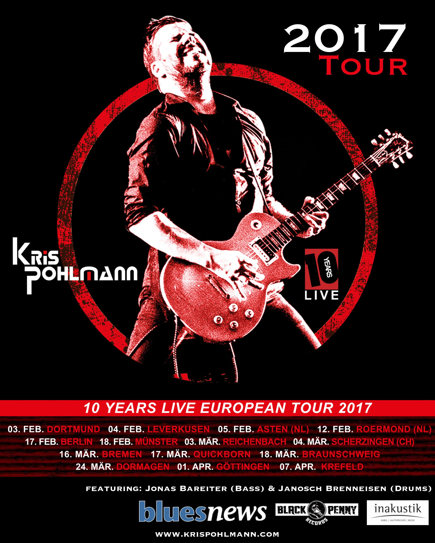 KP 10YSL 2017 Tour Postcard Post