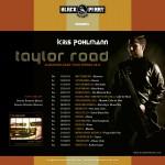 KP Taylor Road Tour Postcard 2015