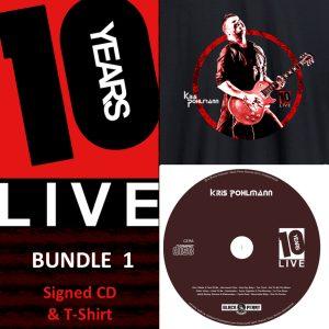 KP 10YSL CD & T-Shirt (Bundle 1)