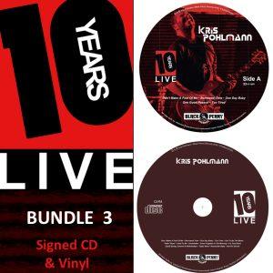 KP 10YSL Bundle 3 CD Vinyl