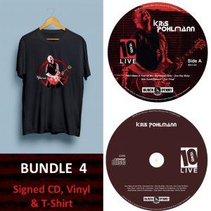 KP 10YSL Bundle 4 - CD, LP, T-Shirt