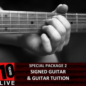 KP 10YSL Guitar Tuition Package