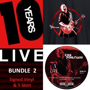 KP 10YSL Vinyl & T-Shirt (Bundle 2)